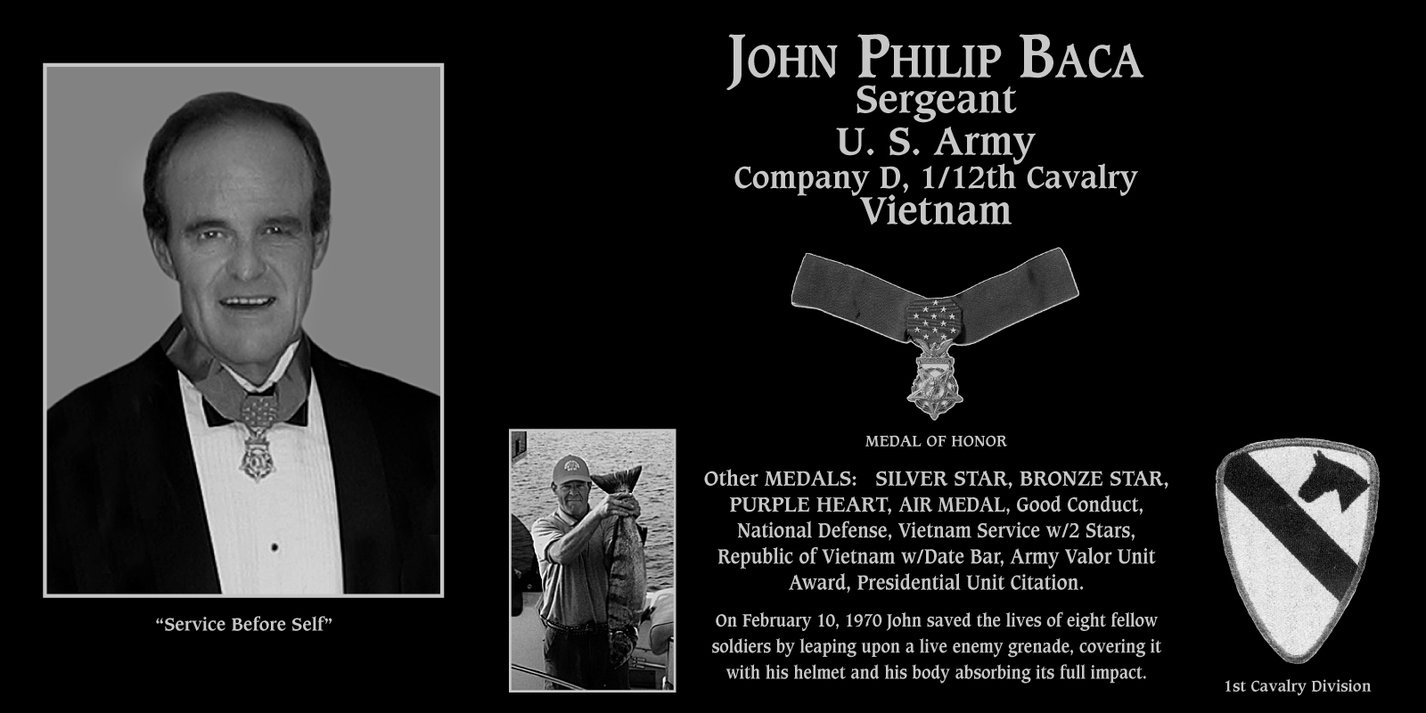 "John P. ""Medal Of Honor Recipient"" Baca"