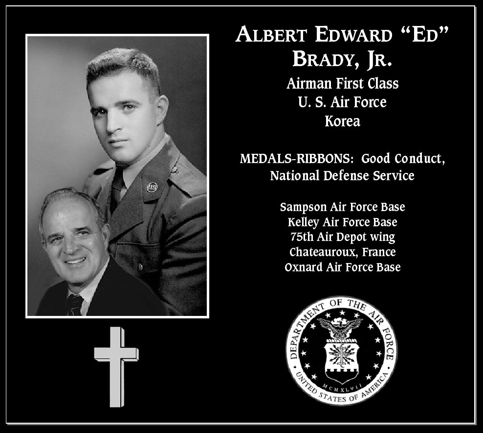 Albert Edward Brady, Jr.