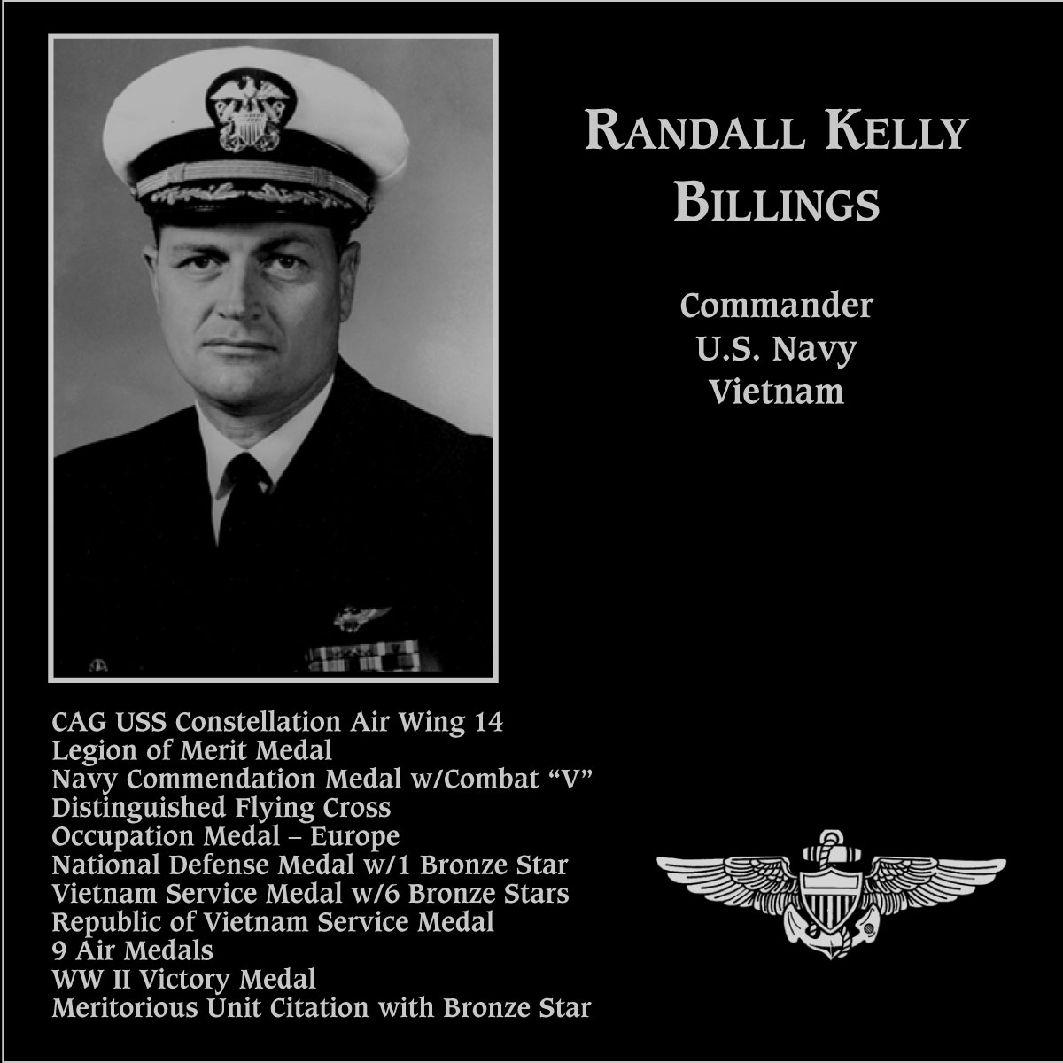 Randall Kelly Billings
