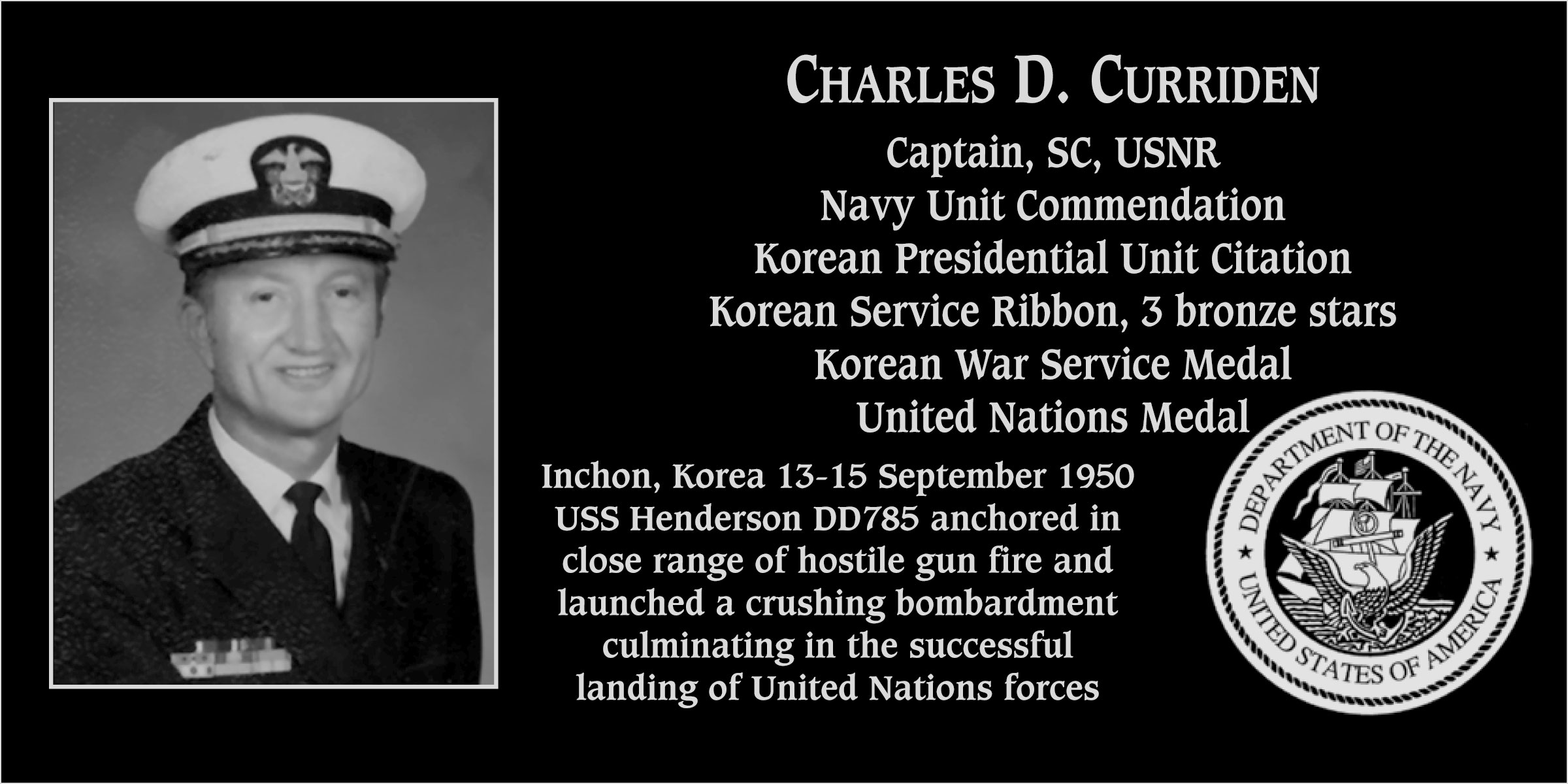 Charles D. Curriden