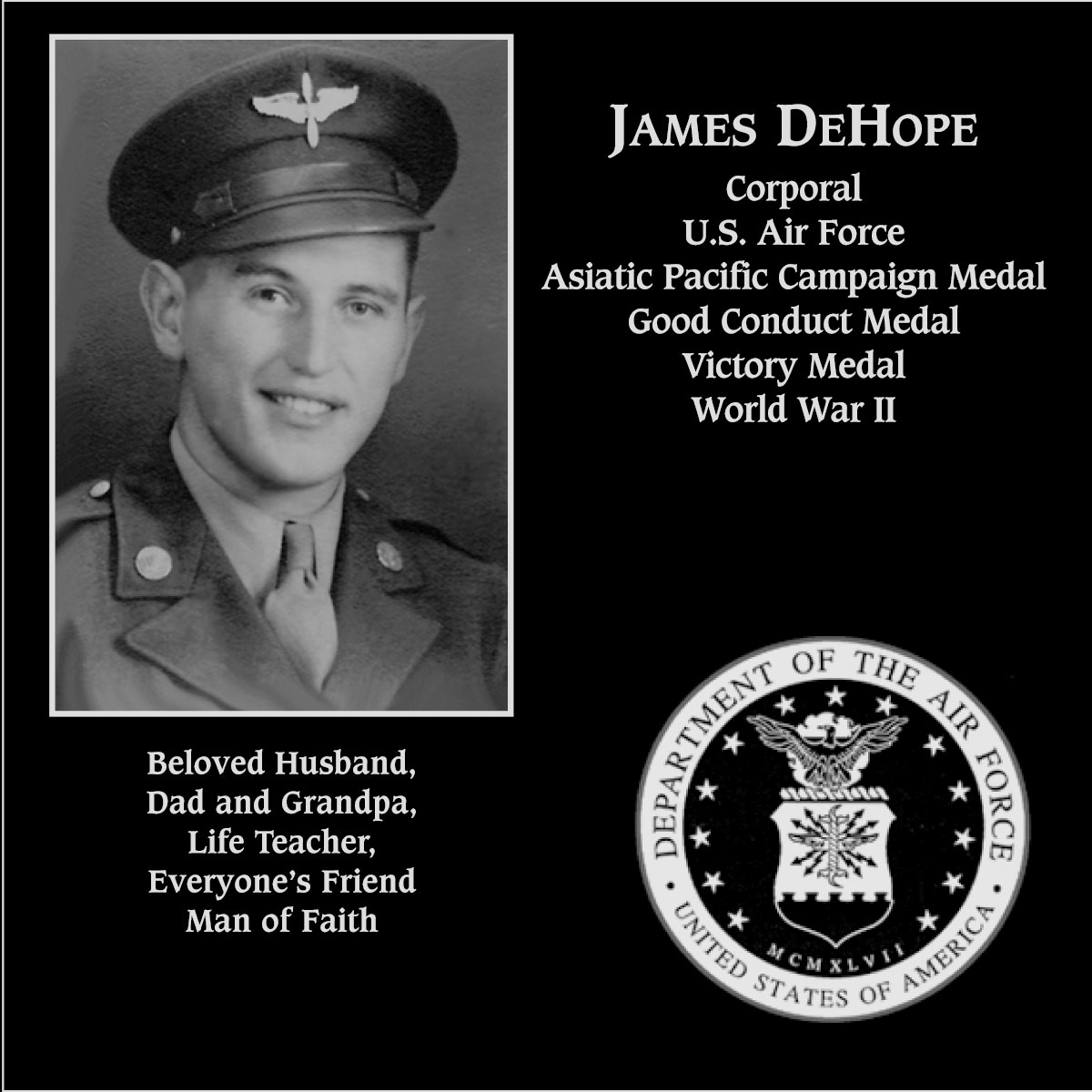 James DeHope