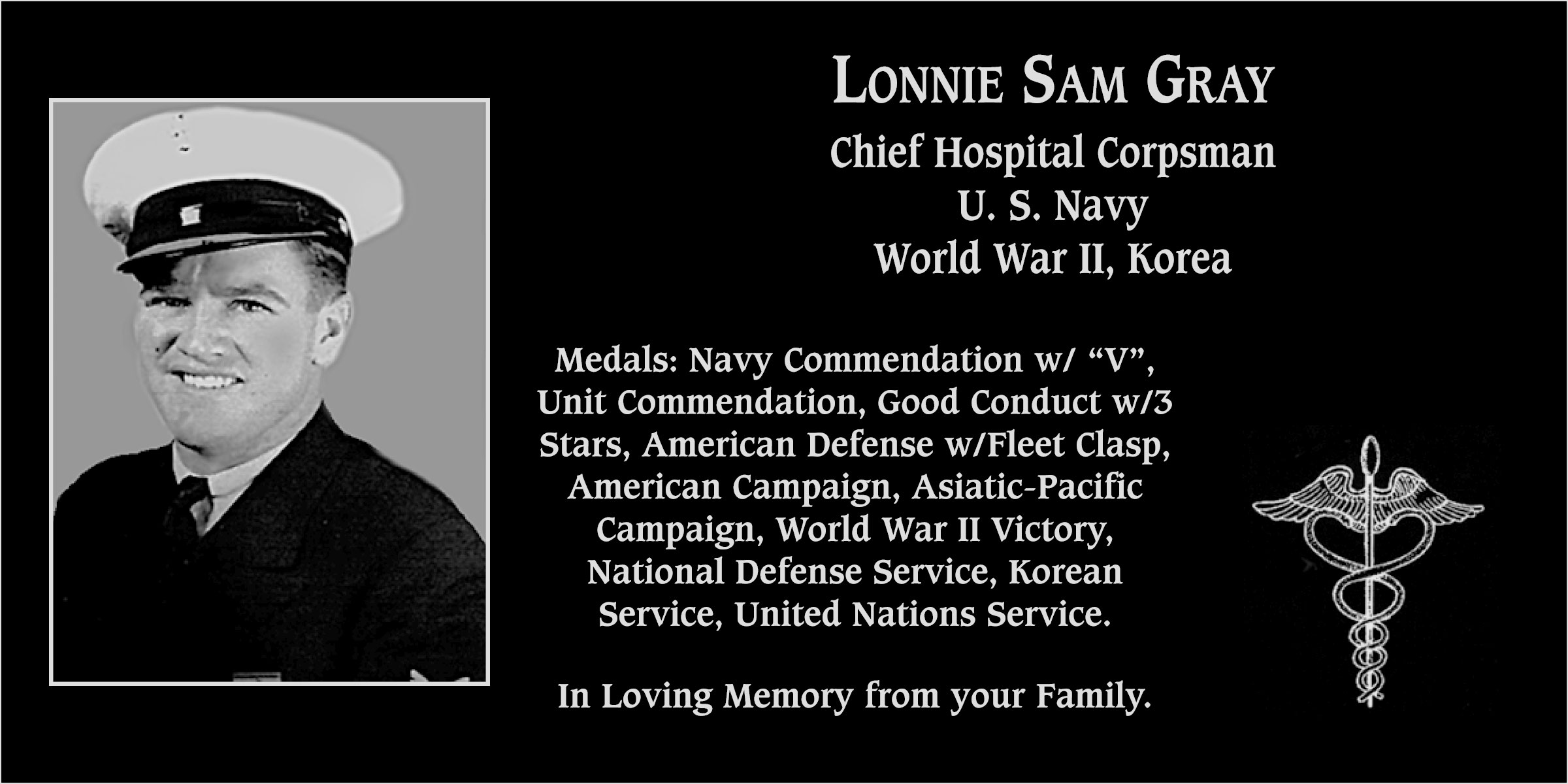 Lonnie Sam Gray