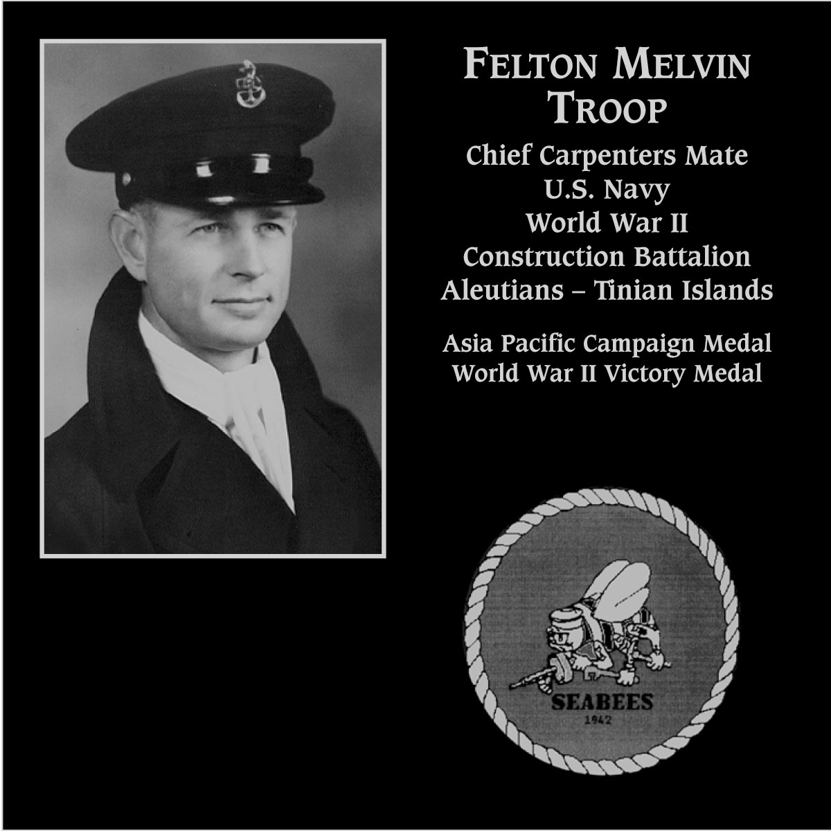 Felton Melvin Troop