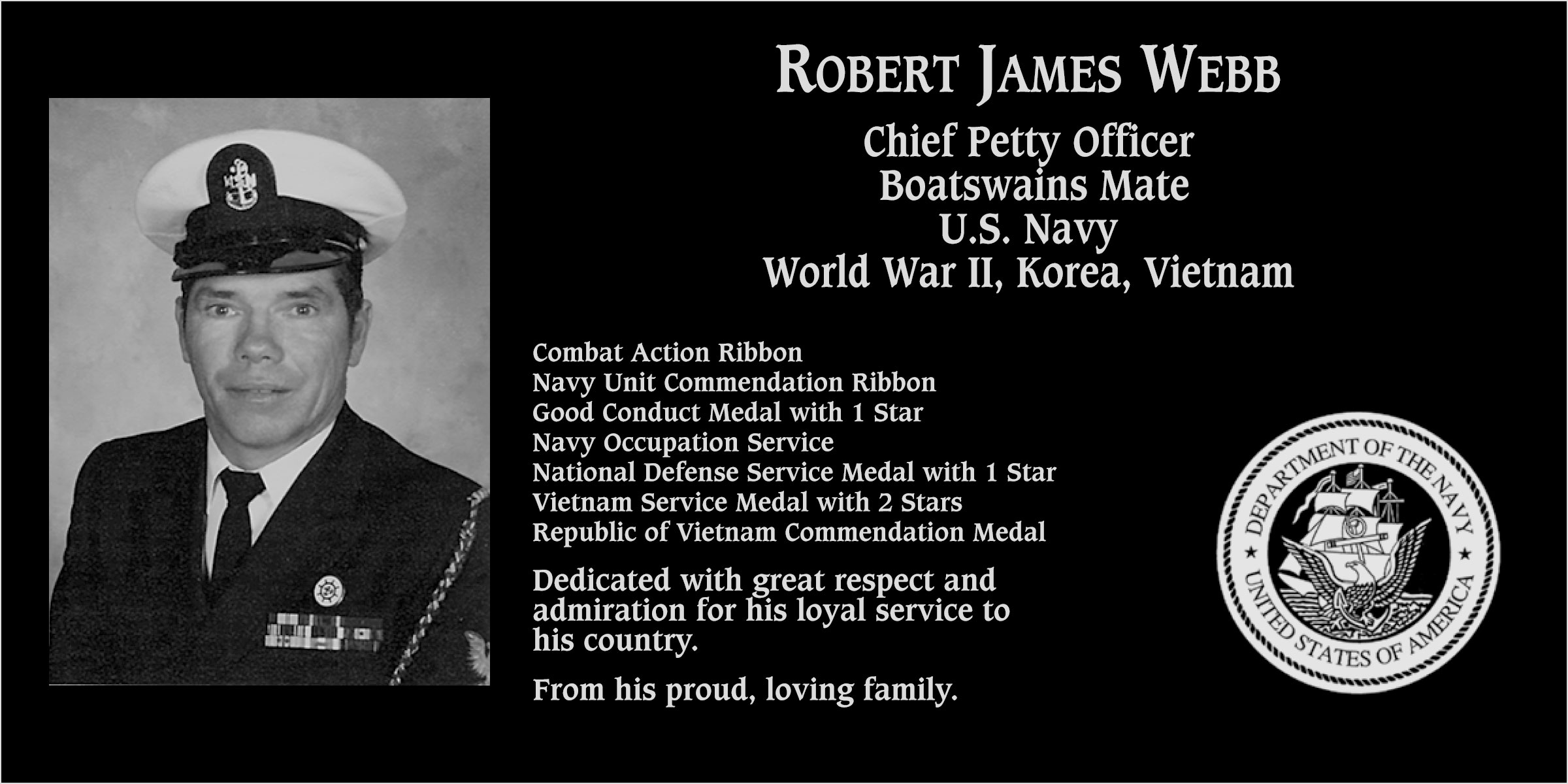 Robert James Webb