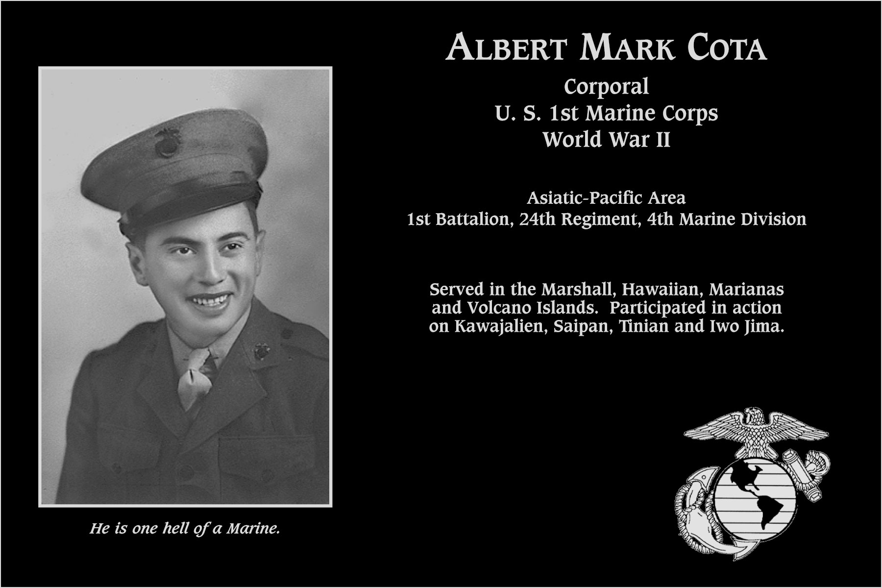 Albert Mark Cota
