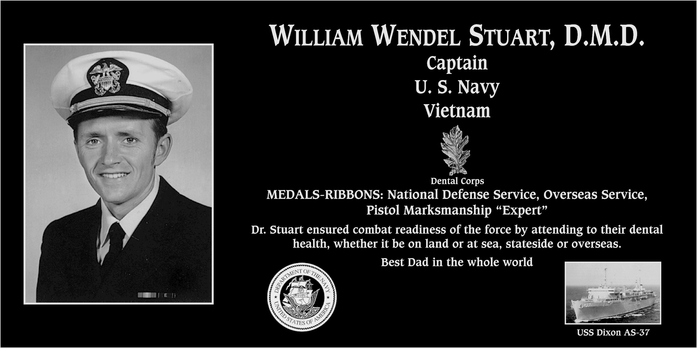 William Wendel Stuart, D.M.D.