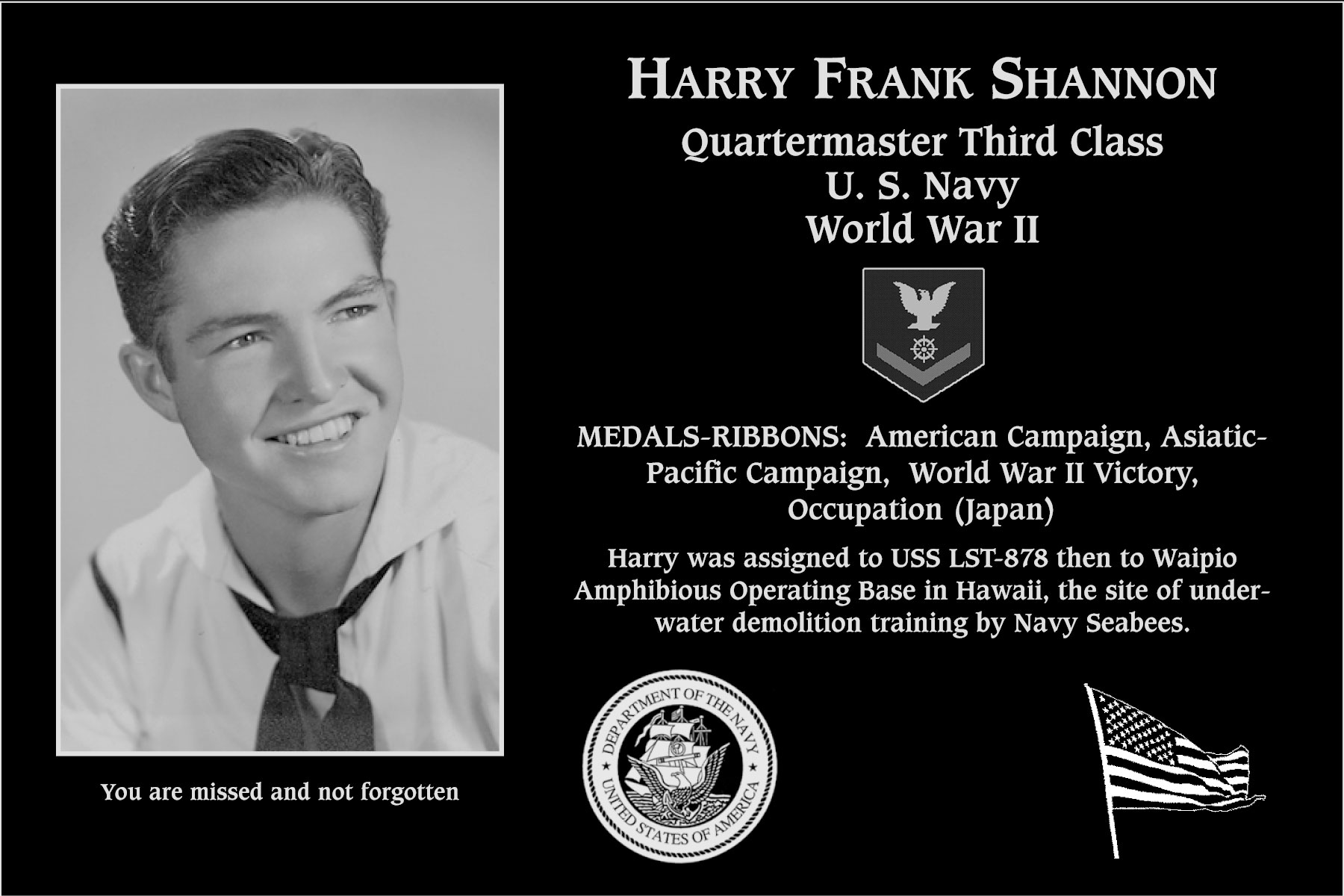 Harry Frank Shannon
