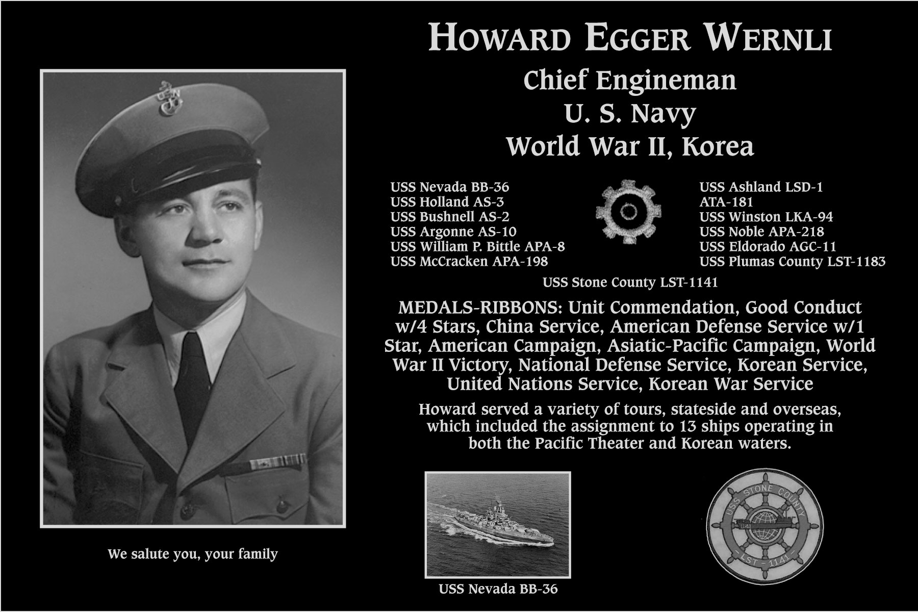 Howard Egger Wernli