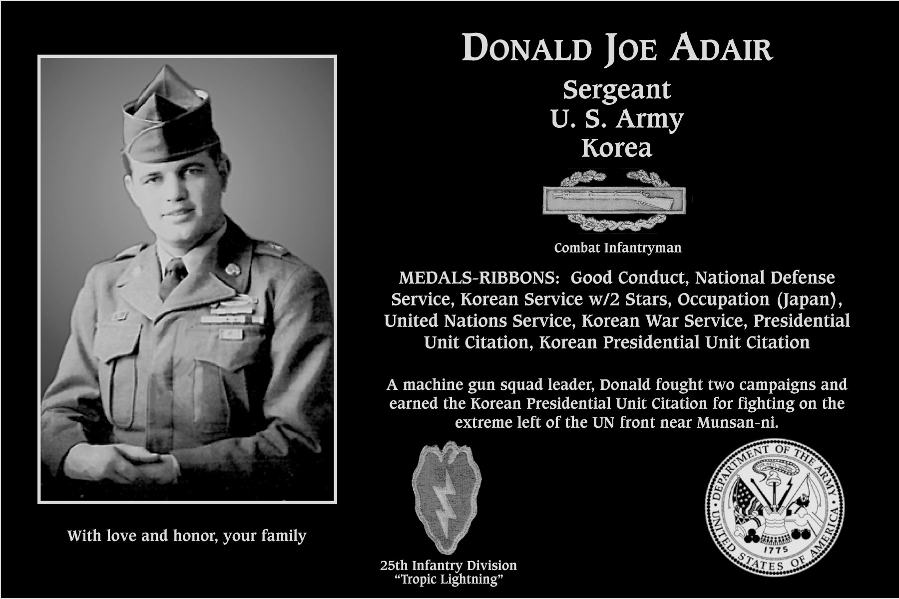 Donald Joe Adair