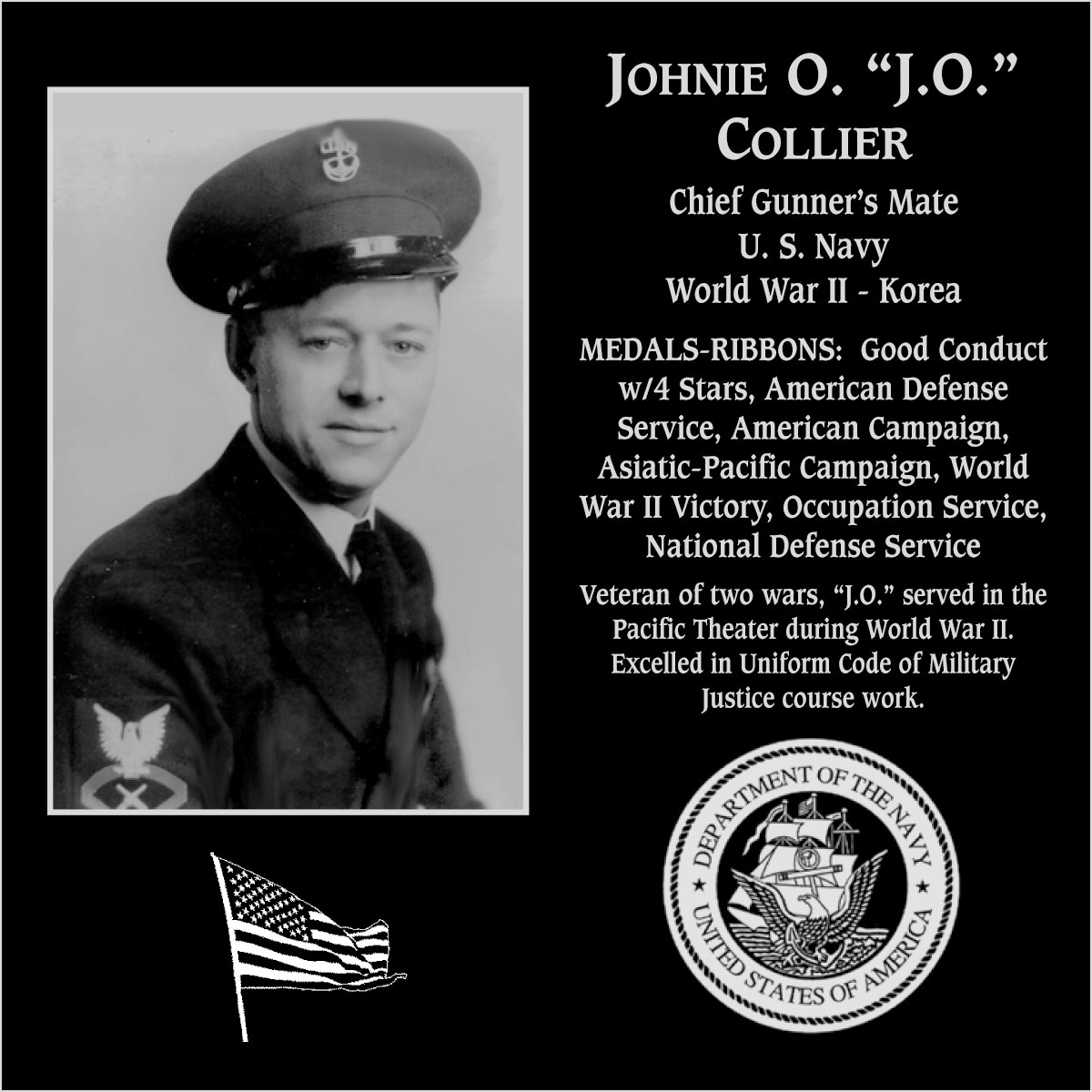 Johnie O. Collier