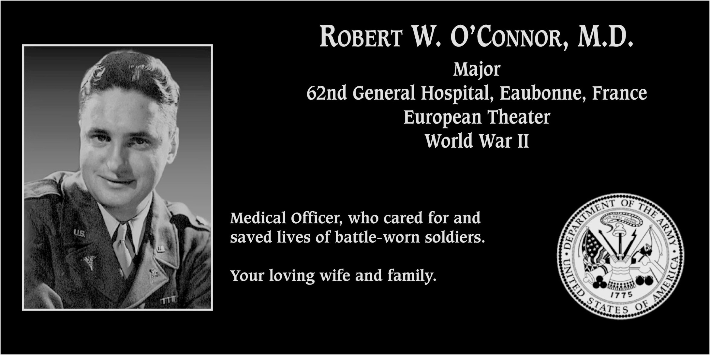 Robert W. O'Connor, M.D.