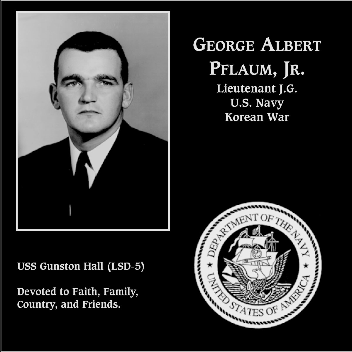 George Albert. Pflaum, Jr.