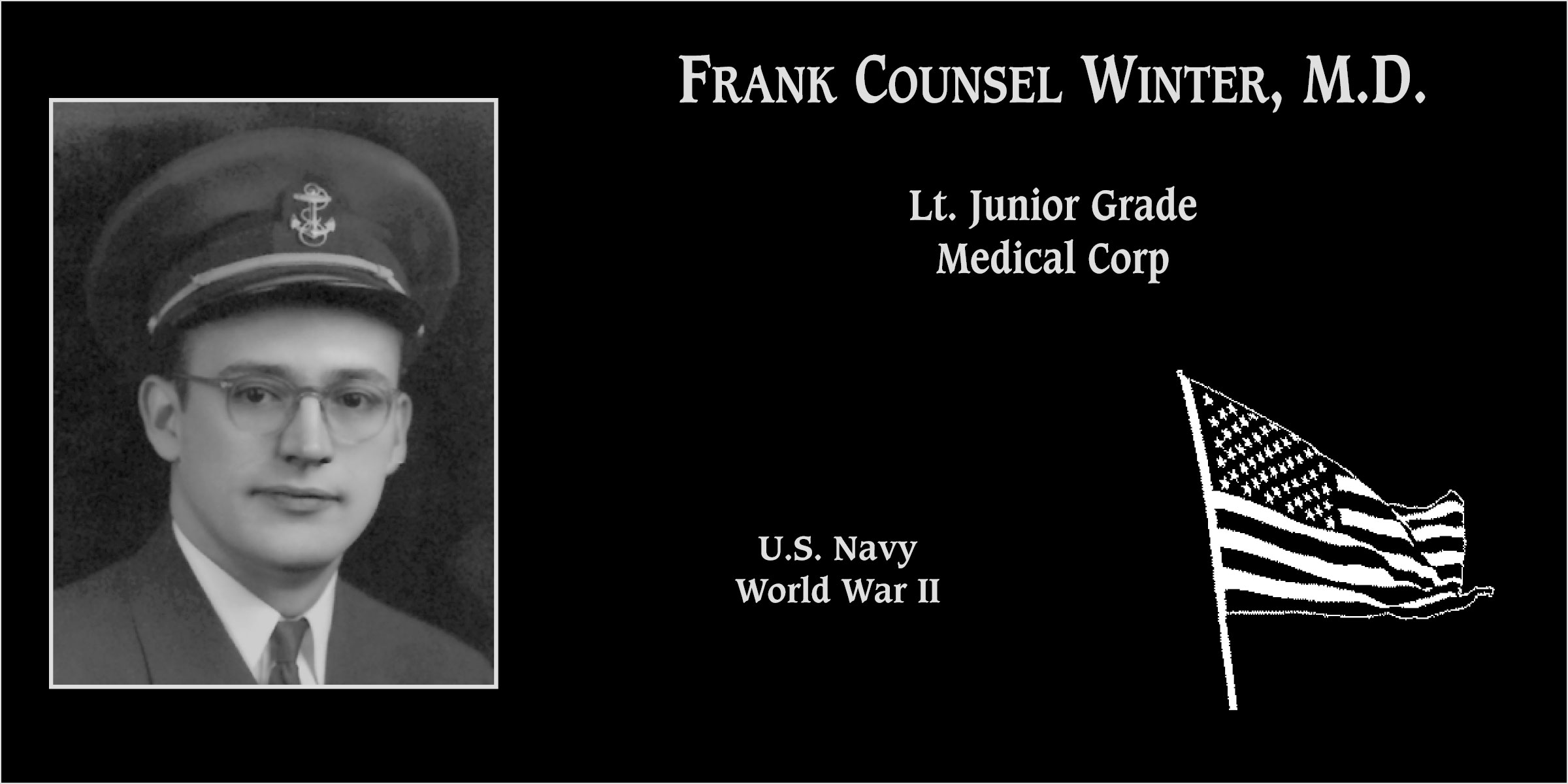 Frank Counsel Winter, M.D.
