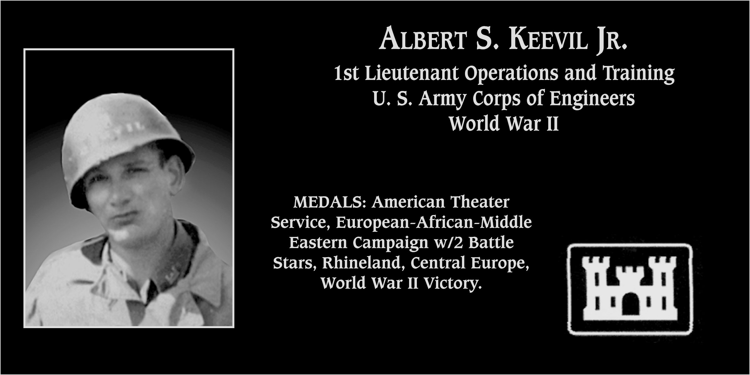 Albert S. Keevil, Jr.