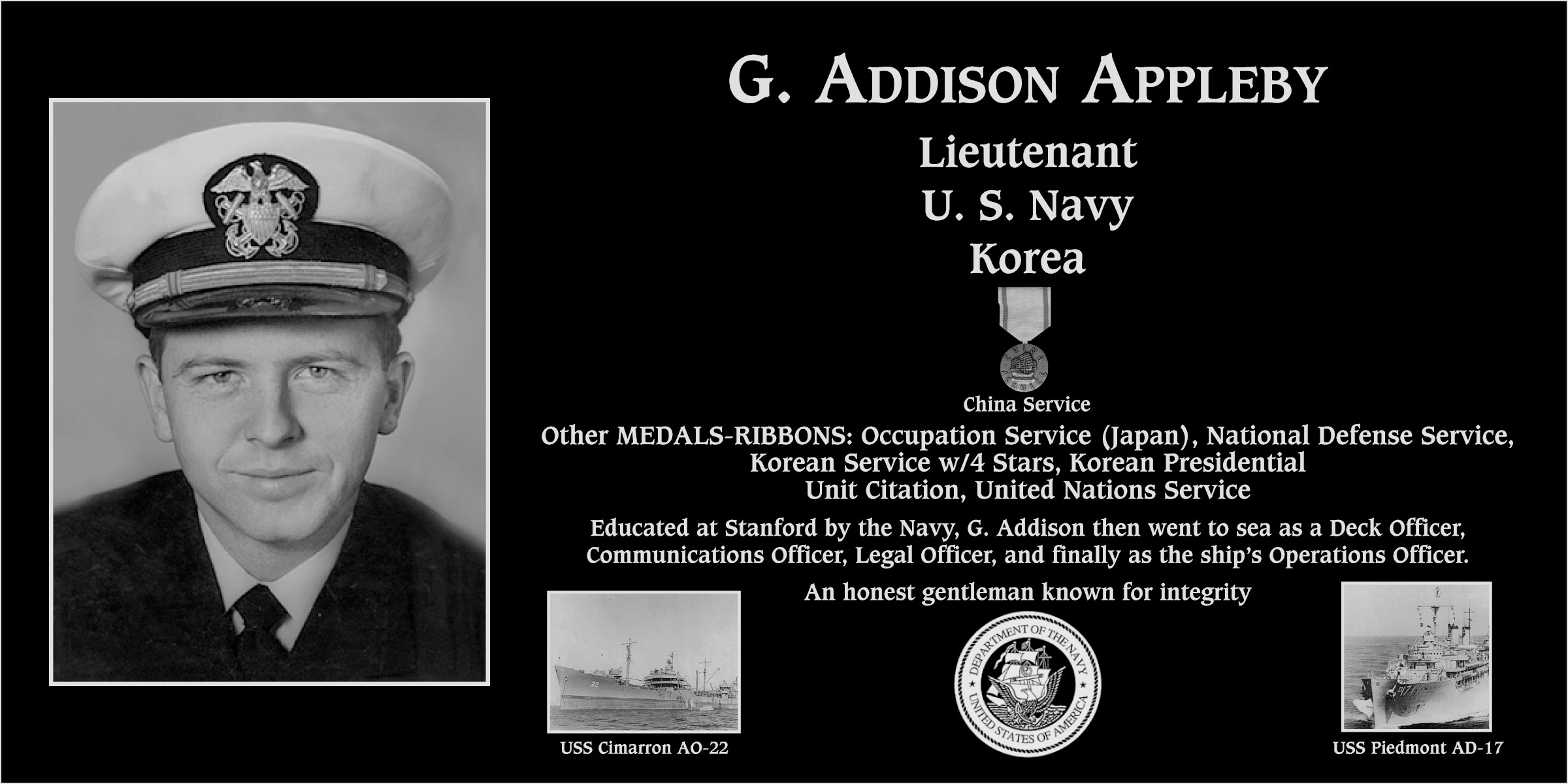 G. Addison Appleby
