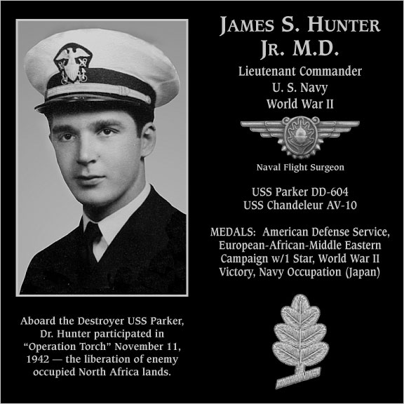 James S. Hunter, Jr., M.D.
