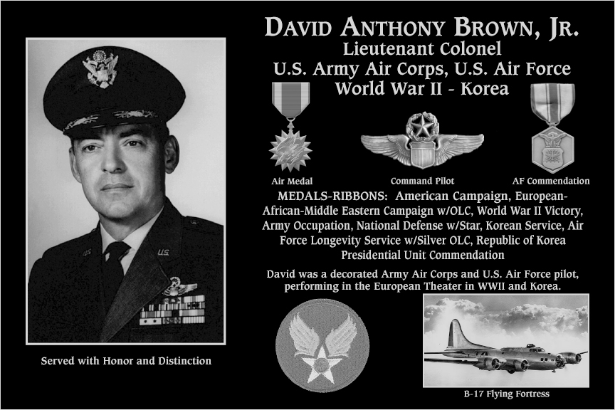 David A. Brown, Jr.