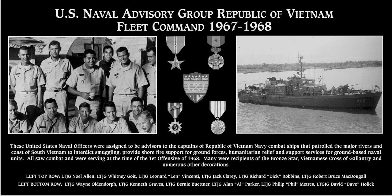 "U. S. Naval Advisory Group ""Republic of Vietnam Fleet Command 1967-1968"""