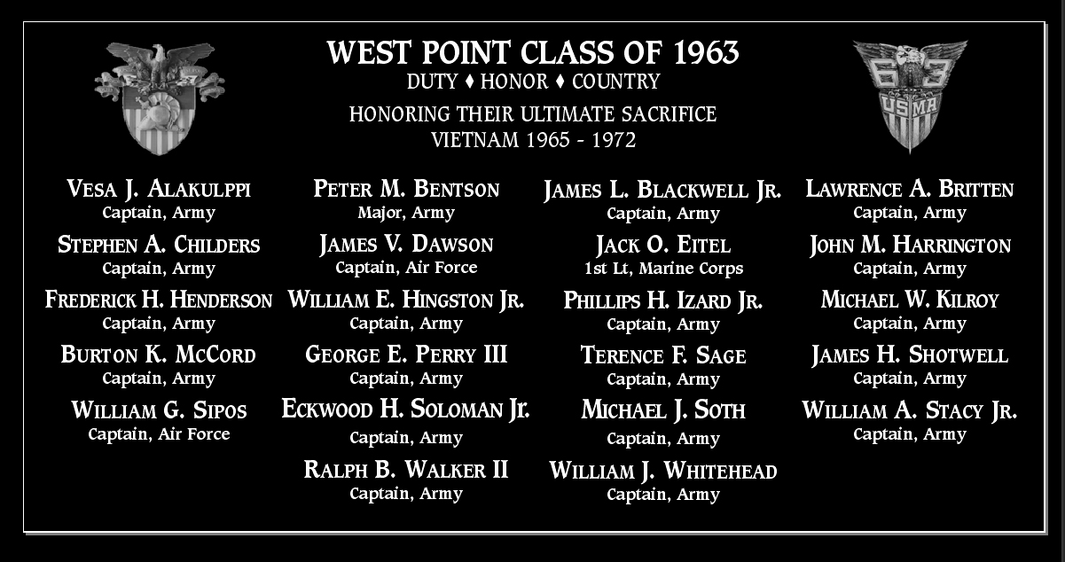 West Point Class of 1963