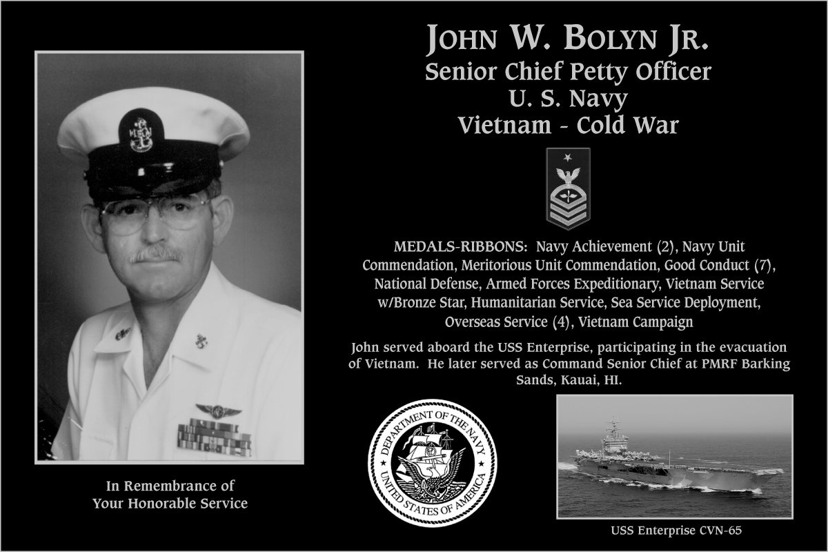 John W. Bolyn, Jr.