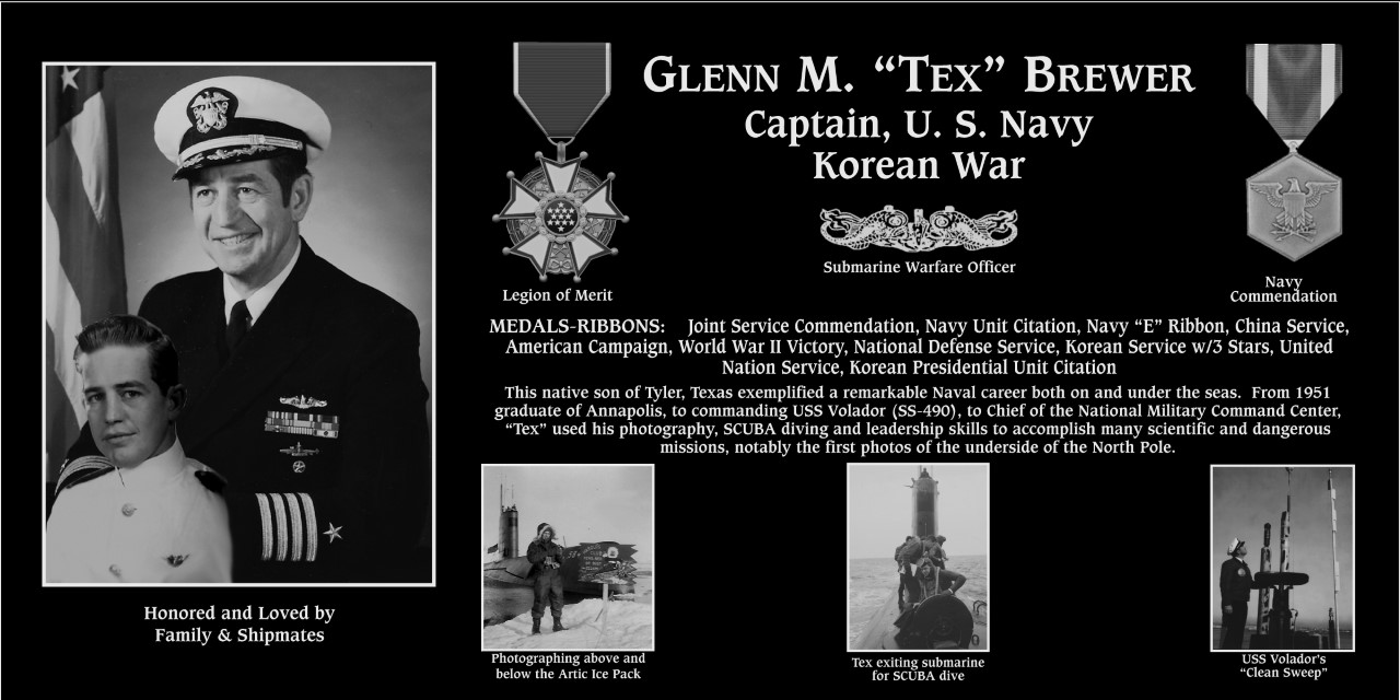 "Glenn M ""Tex"" Brewer"