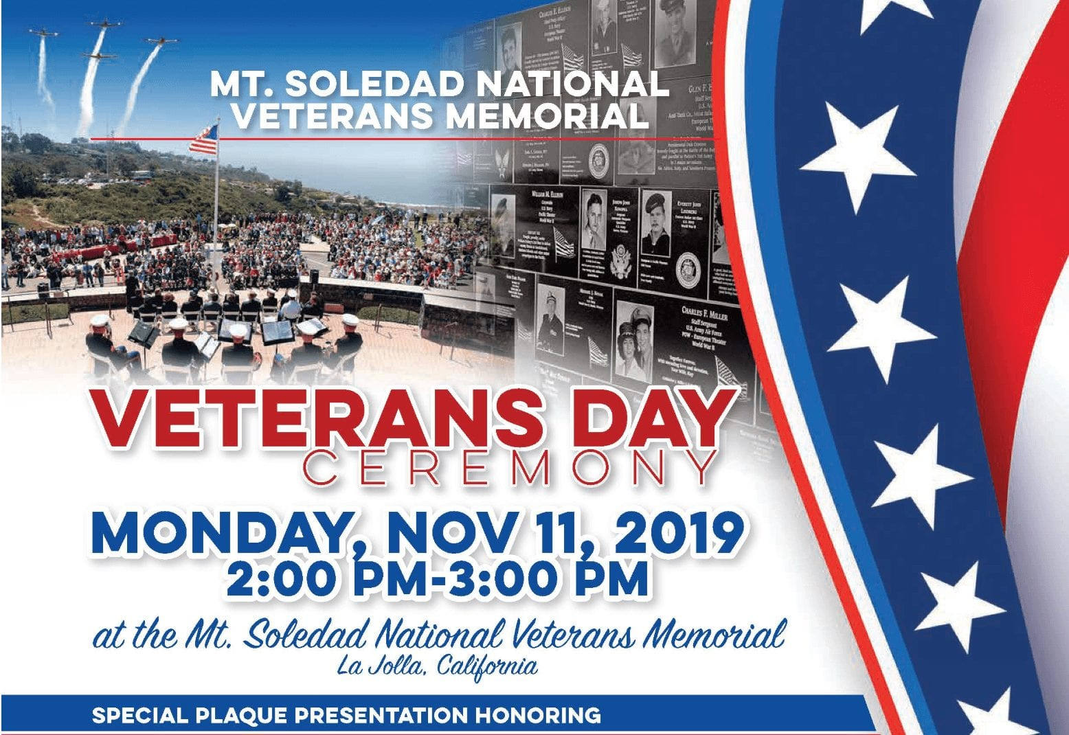 Veterans Day 2019 Mt. Soledad