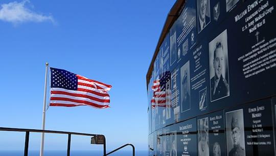 San Diego's Mt Soledad Veterans Memorial