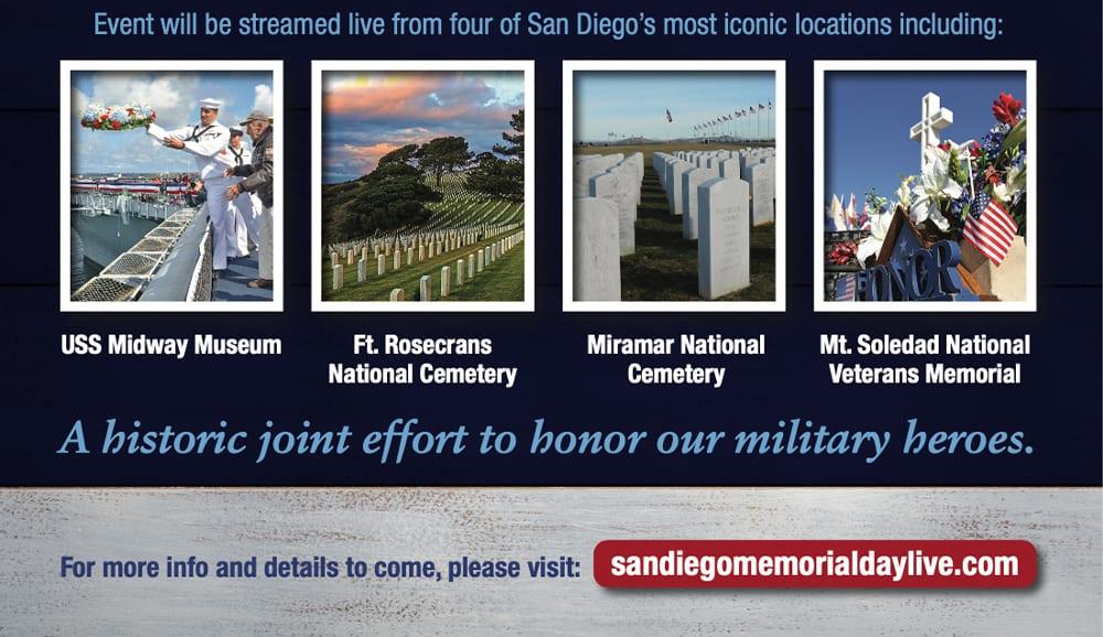 Memorial Day details 2020