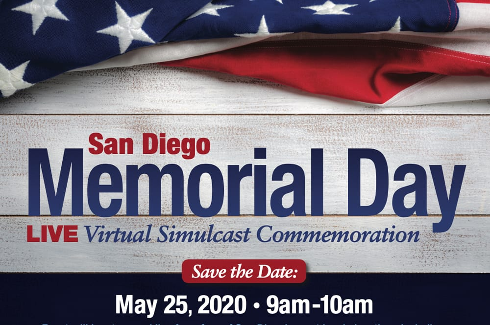 Memorial Day 2020 San Diego