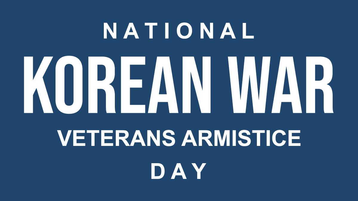 Korean War Veterans Armistice Day